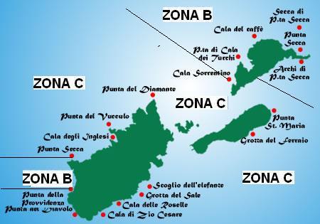 Cartina Geografica Delle Isole Tremiti.Isole Tremiti Riserva Marina